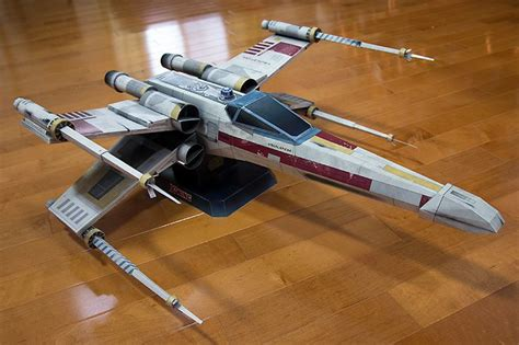 X Wing Papercraft - x wing papercraft 竏ス 鉷 鉷 苟 162 竏ス