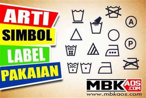 Berapa Pemutih Pakaian arti simbol label pakaian mbkaos
