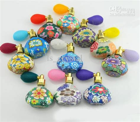 Aroma Ls Wholesale by 15ml Flower Perfume Bottle Polymer Clay Gasbag Fragrance