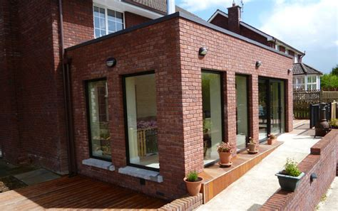 Exterior Home Remodel Before And After - red brick house extension contemporary other by staran architects ltd