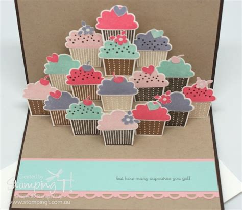 pop up cupcake card template cupcake card on happy birthday cards handmade
