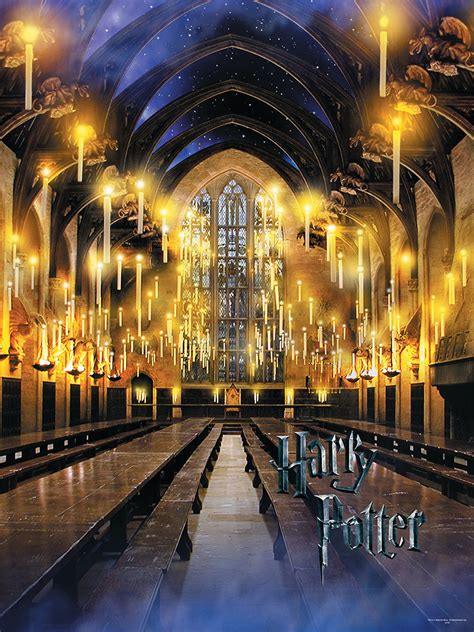 the great hall harry potter harry potter the great hall puzzle puzzle usaopoly