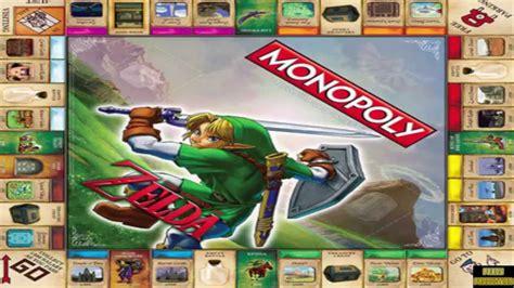 legend of zelda monopoly map the legend of zelda monopoly coming september youtube