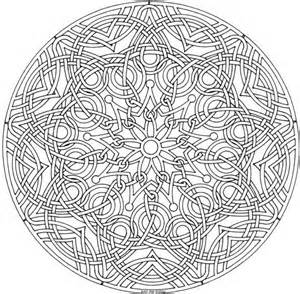 advanced mandala coloring pages mandala coloring pages advanced level img 72574