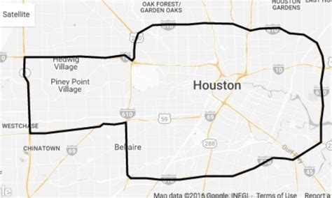 houston map inside 610 uber introduces fixed weekday fares inside loop memorial