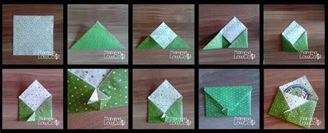 tutorial origami semplici buste e bustine origami con taschina mamma low cost