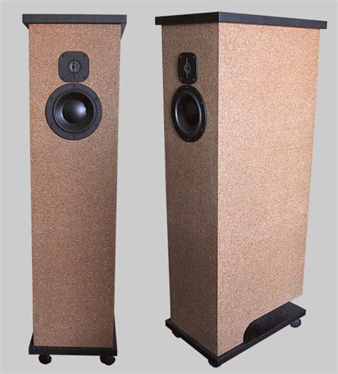 Dome Tweeter Dynaudio Dyn 808 quarter wavelength loudspeaker design gallery