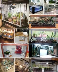 fish tank decor repurposed fish tanks