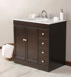 How To Install Kitchen Cabinet Pulls bathroom vanities with tops choosing the right countertop