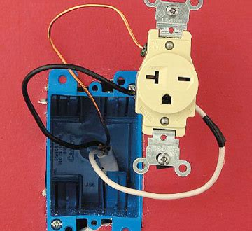 Installing A 240 Volt Receptacle How To Install A New