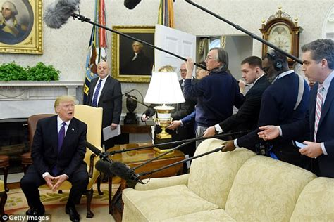 trumps oval office trump kicks cnn s jim acosta out of the oval office