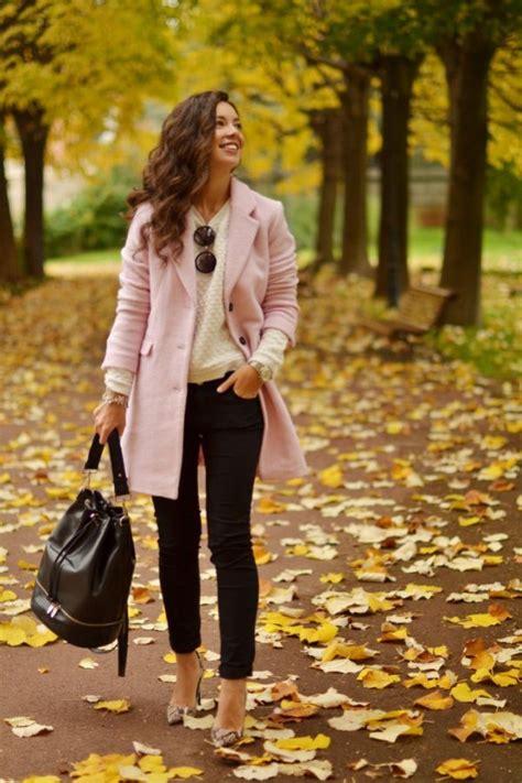 beautiful pink outfits  fall  winter  modish