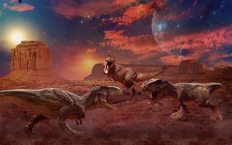 dinosaur painting free ancient animals dinosaur painting three wallpaper
