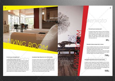 10 Modern Furniture Catalog Templates For Interior Decoration Psd Ai Indesign Catalogue Brochure Templates