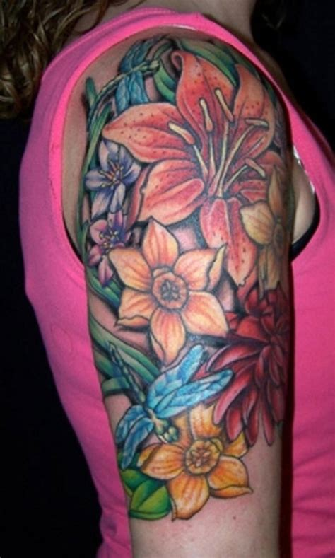 flower tattoo for arm great arm tattoo ideas for women arm tattoos for men