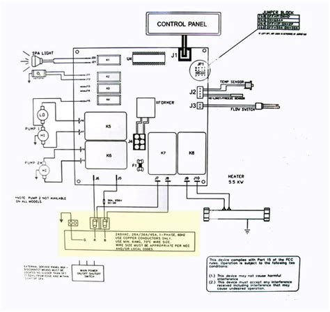 dimension one spa wiring diagram get free image about