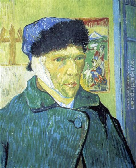 van goghs ear the 1784702226 self portrait with bandaged ear by vincent van gogh oil painting reproduction