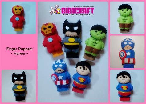 Boneka Jari Peppa Pig biba craft collection finger puppets boneka jari