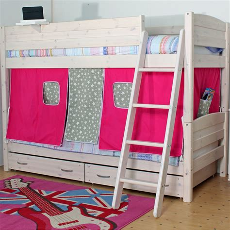 bunk beds bunk beds thuka trendy kids bunk bed in whitewash pine bunk beds