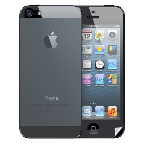 iphone 5s front clear screen protector pack for apple iphone 5s front back