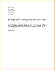 Letter Of Resignation Word Template by Resignation Letter Template Word Mobawallpaper