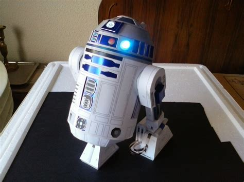 R2d2 Papercraft - wars r2d2 papercraft by pesadillaaa3 on deviantart