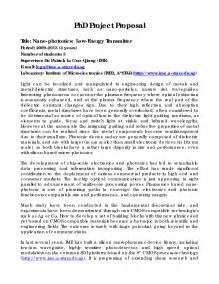 Doctoral Dissertation Proposal Sample Sample Phd Research Proposal Pdf