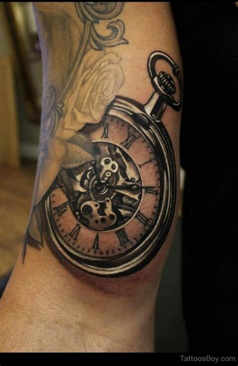 clock tattoos clock designs pictures