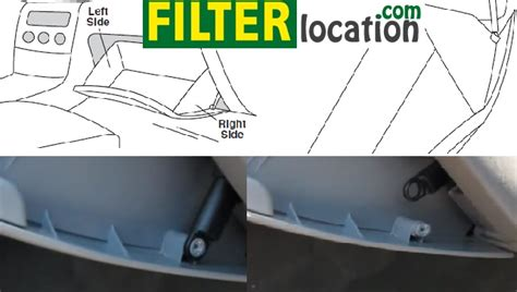 Toyota Matrix Cabin Air Filter by Where Is Located Toyota Matrix Cabin Air Filter