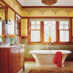 Craftsman Style Bathroom Ideas by Craftsman How To Create A Modern Bath In A Vintage Style