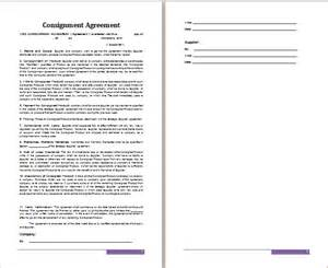 store terms and conditions template ms word consignment agreement template free agreement