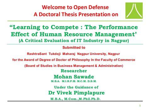 Powerpoint Presentation Of Phd Viva Dissertation Viva Presentation