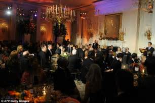 Dining Table Sets Online - state dinner obama s all american white house banquet to welcome china s rulers daily mail online