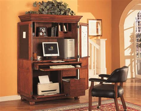 armoire office desk computer armoires office furniture