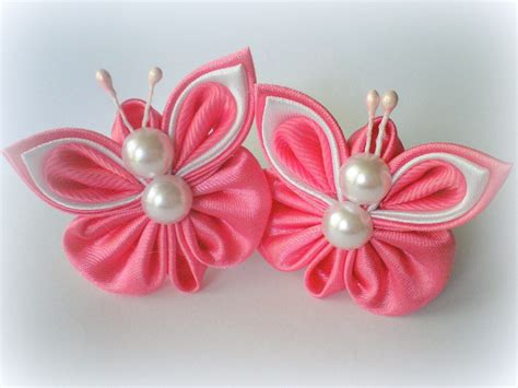 organza butterfly tutorial hair clips elastic band for hair scrunchies butterfly