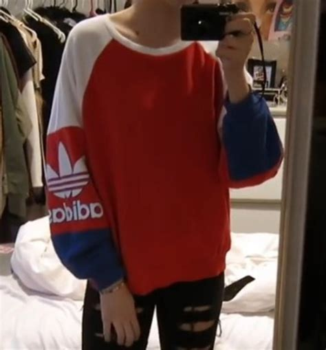 Pusat Sweater Adidas Reds sweater adidas blue white sweatshirt wheretoget