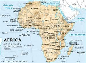 Modern Map Of Africa by Gallery For Gt Africa Map With Country Names