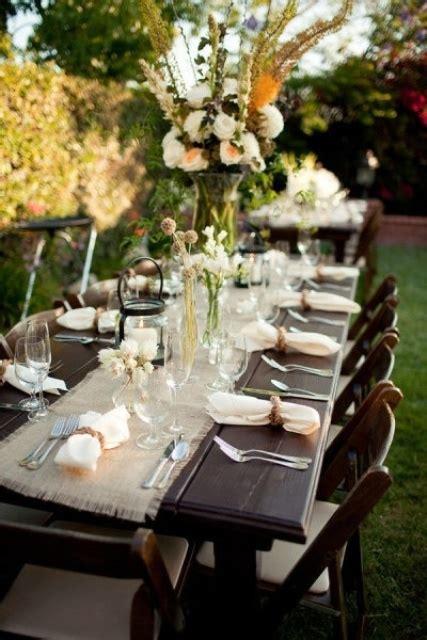 wedding dinner table decoration ideas 30 rustic styled rehearsal dinner decor ideas weddingomania