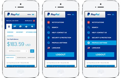 paypal mobile payment nathan winter ux ui designer greater denver area