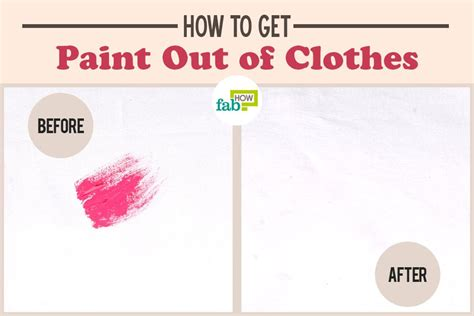 get paint how to get paint out of clothes fab how