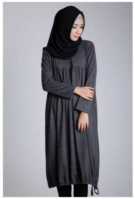 Busana Muslim 92 contoh model busana muslim midi dress terbaru 2017