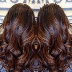 chocolate hair color with caramel highlights 60 balayage hair color ideas with brown caramel