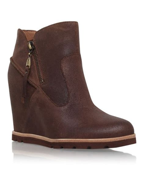 wedge ankle boots fall winter 2015 2016 cinefog