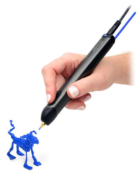 3d doodle pen 3doodler 3d printing pen 2 0 thinkgeek