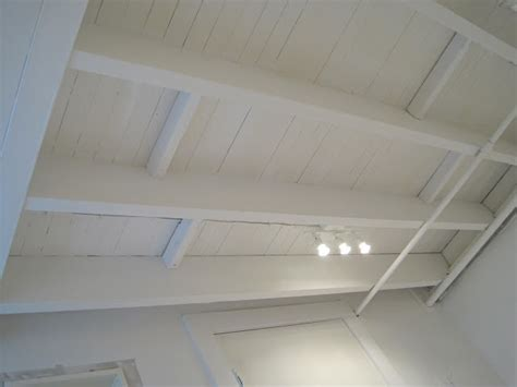 Painting A Ceiling White by Painted Basement Ceiling White Basement
