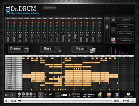 midi drum pattern generator dr drum beat maker software midi drum files