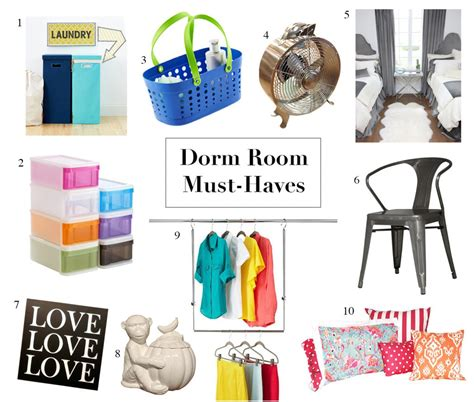 10 must have dorm room accessories dig this design shop dorm room must haves from seen s august back to