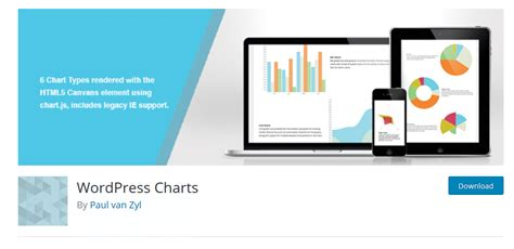 wordpress top bar plugin plugins for chart and data management on wordpress