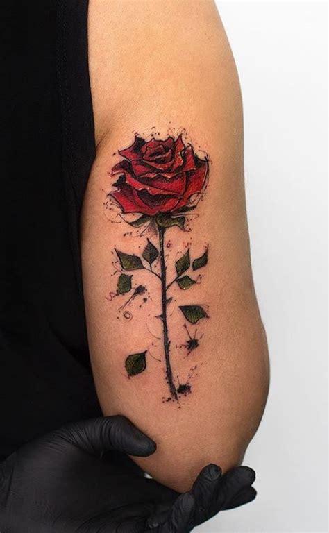 gorgeous rose tattoos best 25 sleeve tattoos ideas on