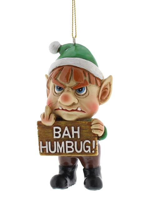 bad santa hanging decorations funny christmas tree xmas
